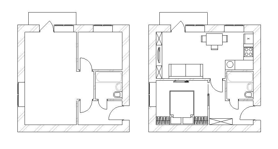 Интерьер кухни полы из плитки