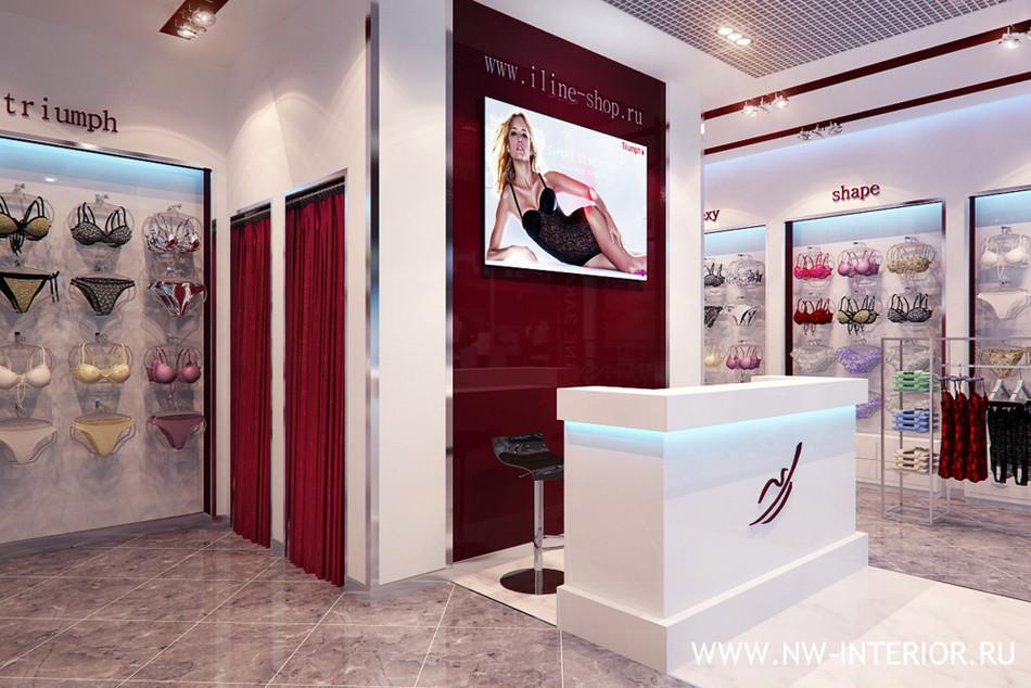 Дизайн маленького магазина