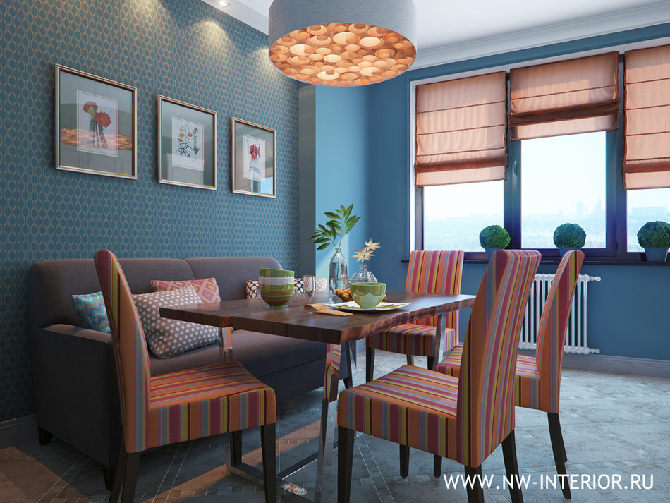 Цветовое решение интерьера квартиры