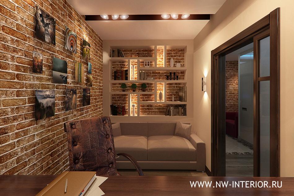 Дизайн интерьера - кирпич и декоративный камень в интерьере.